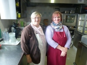 Rada Riedl und Maria Atzinger